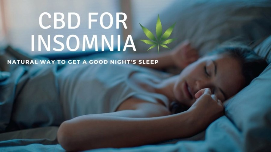CBD for Insomnia: Natural Way to Get a Good Night's Sleep